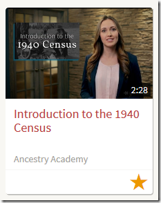 Ancestry Academy Short, Hosted Videos