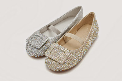 Silver and gold baby flat ( Source: Pazzion)