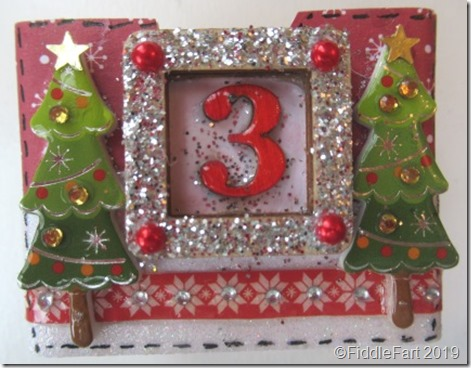 Christmas Tree Drawer Advent Calendar