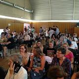 2018-09-25 Els alumnes d'EDI assisteixen a una ponència sobre els reptes educatius a càrrec d'Ismael Palacín