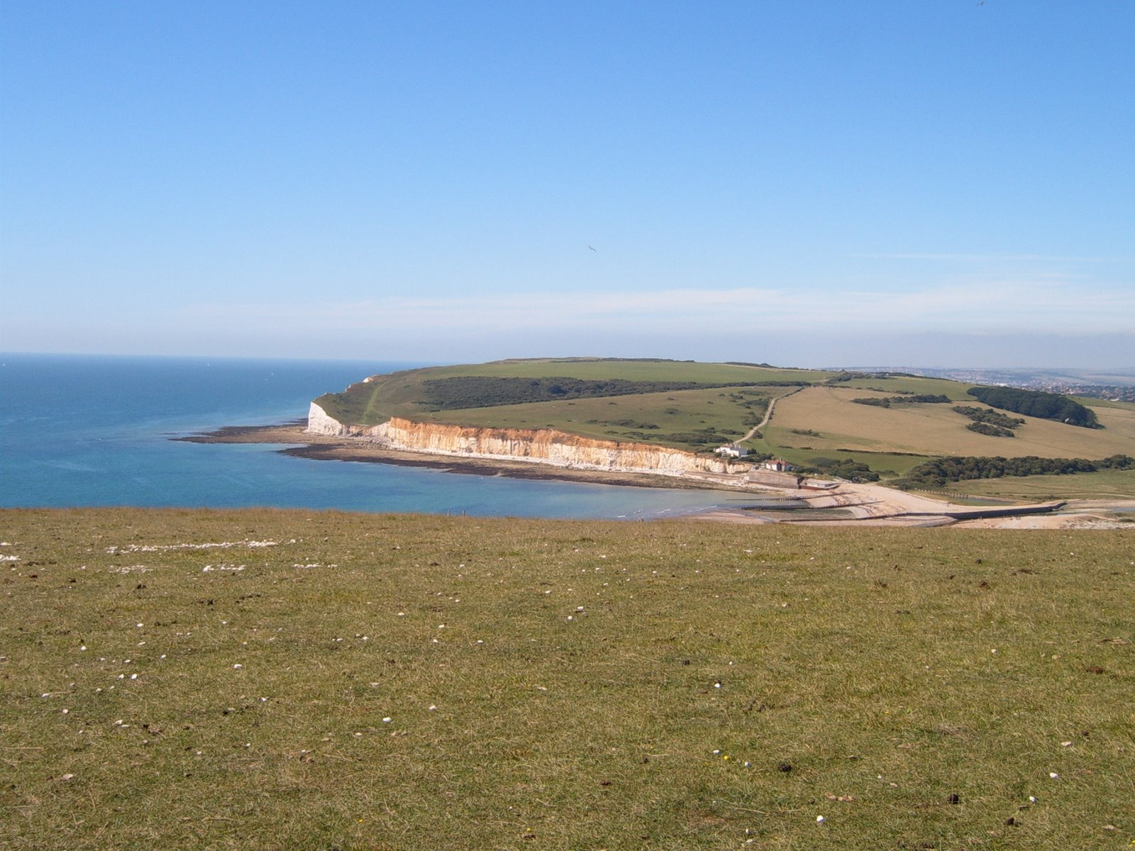 Seaford Head from 7 Sisters