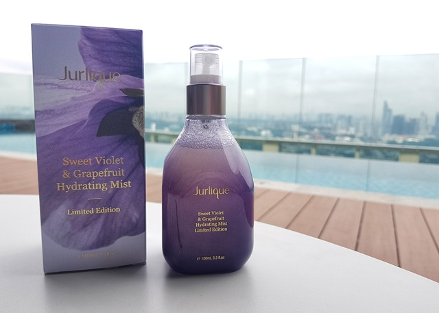 Sweet Violet & Grapefruit Hydrating Mist Limited Edition by Jurlique | Review |