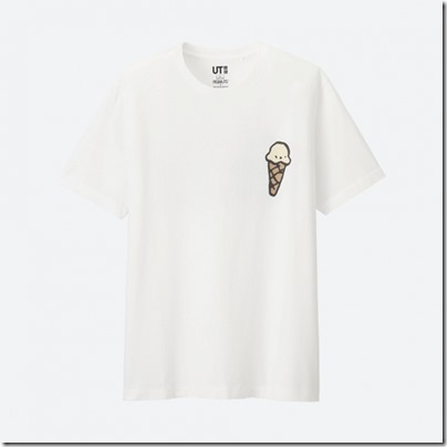 UNIQLO X PEANUTS MEN T SHIRT - WE ALL ORDERED VANILLA 01