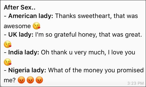 Very Funny!! Is This True About Nigerian Ladies? – Checkout This Funny Thing A Guy Said