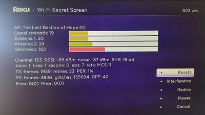 Secret screen
