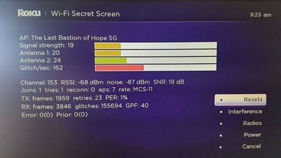 "The Invisible Blog: Roku has a ""Contra Code"" Secret Screen for Wifi"