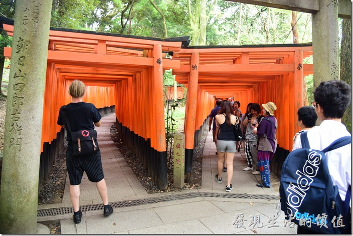 日本-伏見稻荷神社千鳥居26