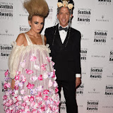 OIC - ENTSIMAGES.COM - Tallia Storm and Derek Warburton at the Scottish Fashion Awards in London 3rdSeptember 2015 Photo Mobis Photos/OIC 0203 174 1069