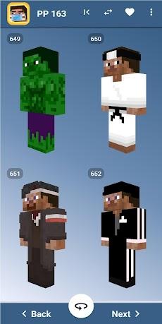 Steve Skins for Minecraft PE - MCPEのおすすめ画像1
