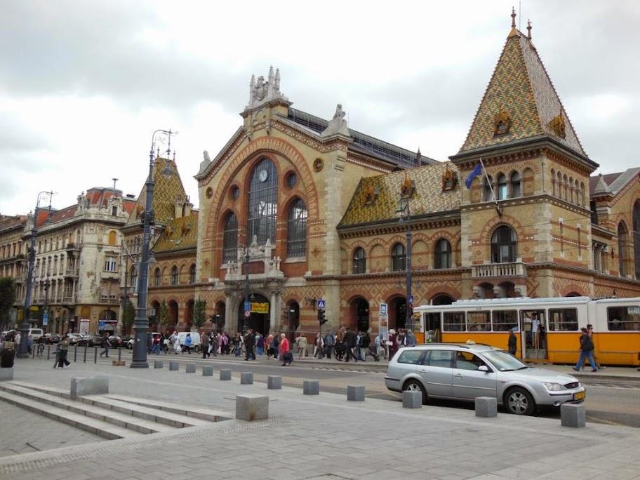 ¿Qué ver en Budapest en dos días? El Gran Mercado Central