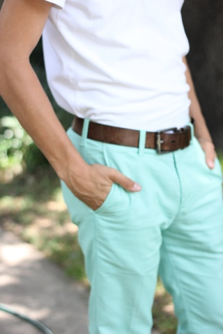 Collection Mint Green Pants Pictures - Kianes