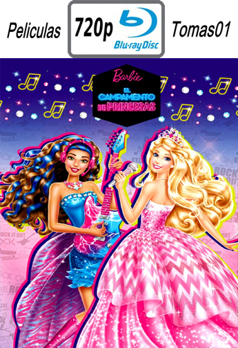 Barbie: Campamento de Princesas (2015) BDRip m720p
