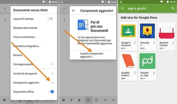 componenti-aggiuntivi-google-docs