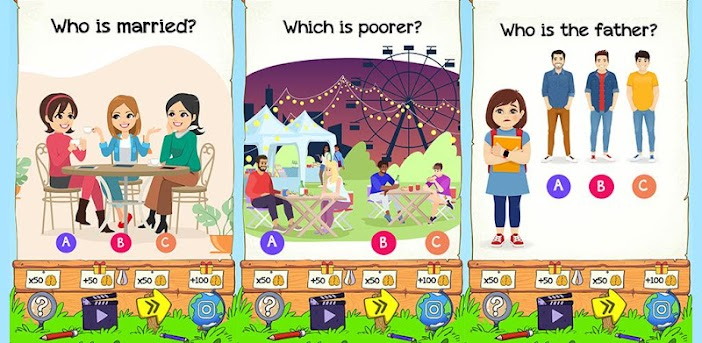 Braindom 2: Who is Who Riddles? Master Brain Games