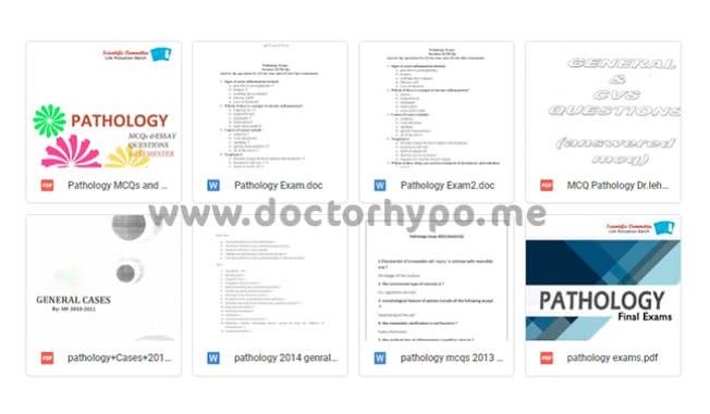 بنك اسئلة باثولوجي pdf