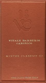 Vitale Barberis Canonico Winter Classics III, Anzug € 750/- Hosen €225/-