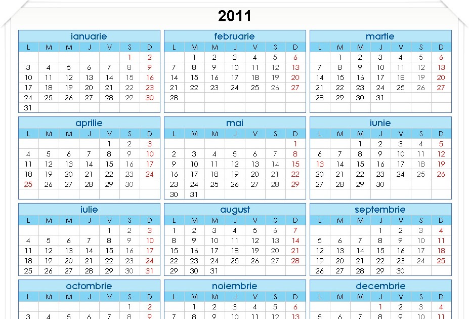 Have you laughed today ?: Calendar românesc 2011