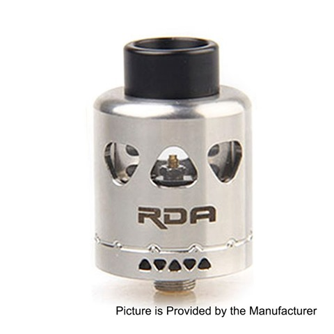 authentic yosta igvi rda rebuildable dripping atomizer silver stainless steel 25mm diameter thumb%255B2%255D - 【海外】「CoilART DPRO RDA」「Yosta Igvi RDA」「Nitecore SC4 6A急速充電バッテリーチャージャー」「Lover TC Temperature Control 80W」ほか