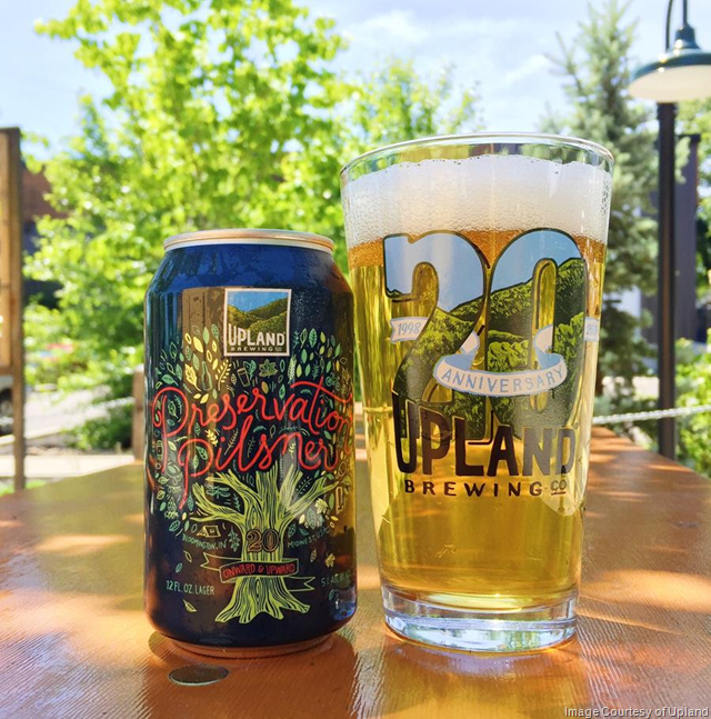 Upland celebrates 20th Anniversary with Preservation Pilsner