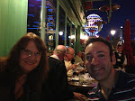 The first night's dinner was at Mon Ami Gabi - we got a primo location right on the Strip