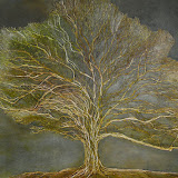 Oak Tree / 36in x 48in