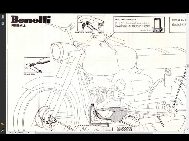 benelli wards cobra dynamo fireball service manual 80pg ... benelli wiring diagram