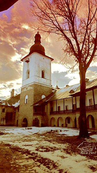 manastirea neamt apus