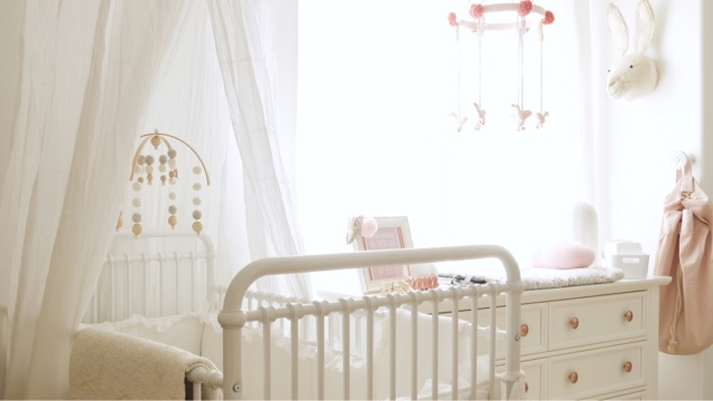 Carmen The Modern Mom Nursery Reveal