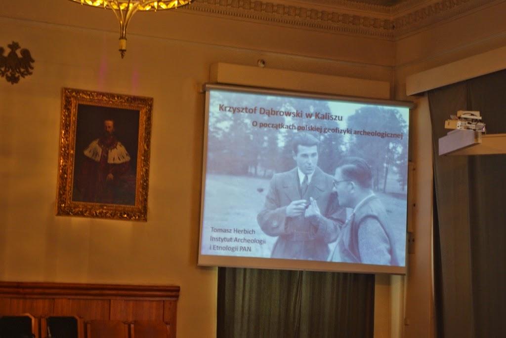 Konferencja Metody geofizyczne w archeologii polskiej (fot. J. Karmowski, K. Kiersnowski) - geof%2B%252821%2529.JPG