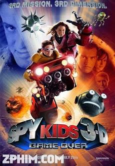 Điệp Viên Nhí 3: Trò Chơi Sinh Tử - Spy Kids 3-D: Game Over (2003) Poster
