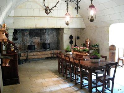 Castillo de chenonceau cheverny chambord y cena en - Cocinas castillo ...
