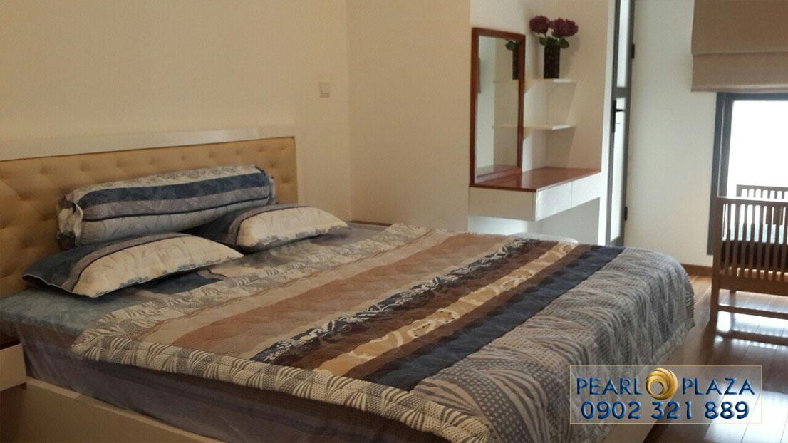 phòng ngủ tại căn hộ pearl plaza