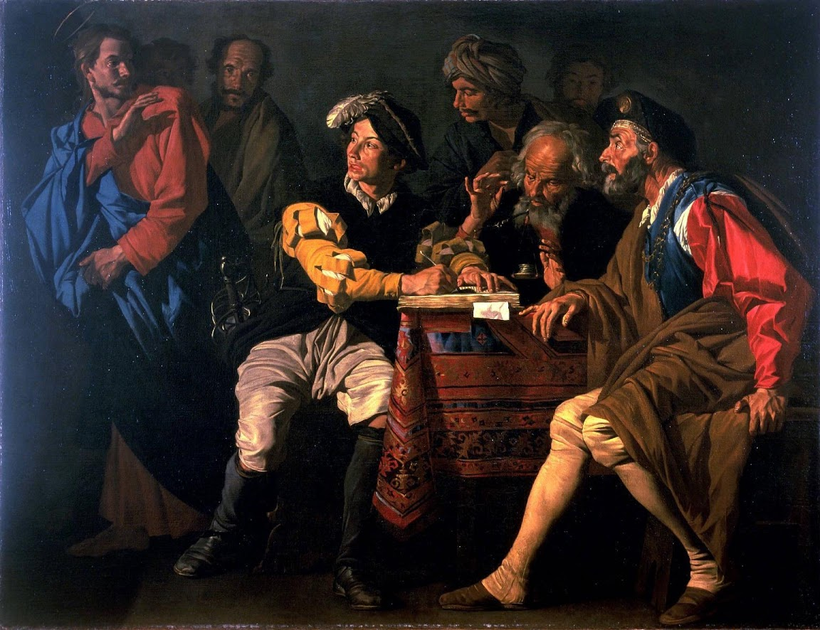 Matthias Stom - The Calling of Saint Matthew