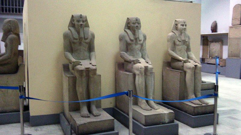 Экспонаты Каирского музея