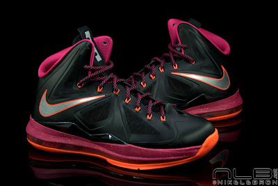 lebron10 floridians 34 web black The Showcase: Nike LeBron X Miami Floridians Throwback