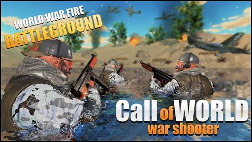 Call of World War Shooter: Free Shooting War Duty Varies with device screenshots 9