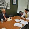 Economic Development Meeting With Peter Cris