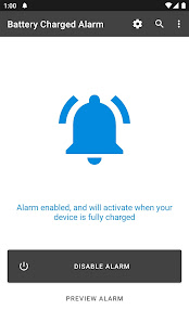 Full Battery Charge Alarm мод