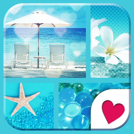 可愛換裝桌布★I love Blue 個人化 App LOGO-硬是要APP