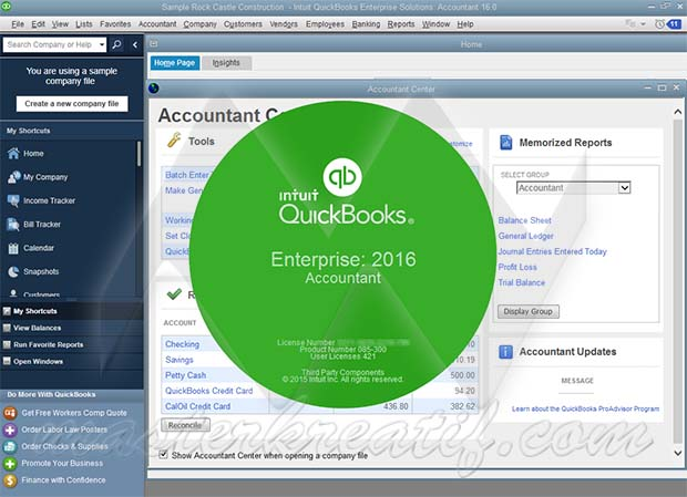 QuickBooks Enterprise 2016 Full Crack | MASTERkreatif