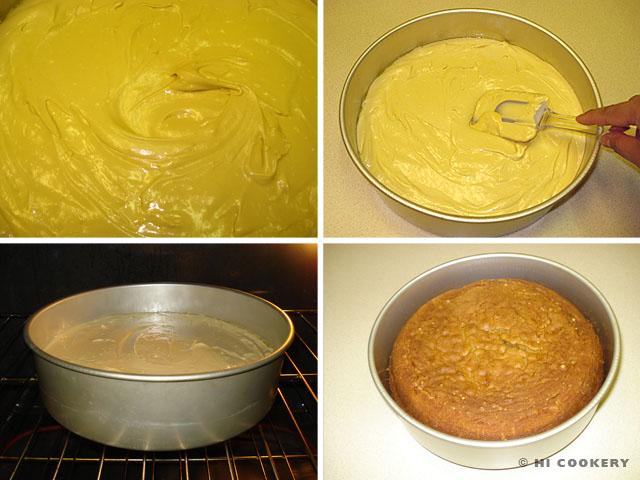 Irish Cream Liqueur Cake