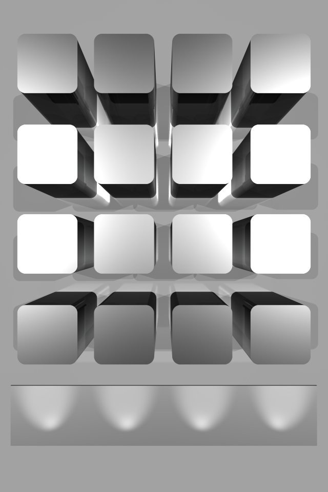 iPhone4 Wallpaper Gray Abstract Background