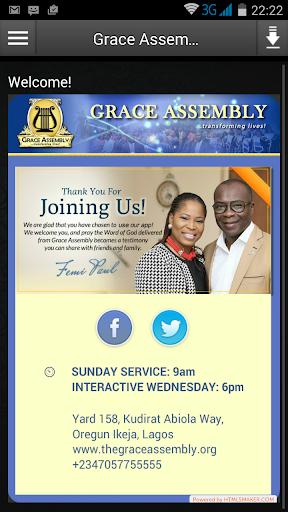 Grace Assembly Virtual Church