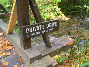 Photo: Ya gotta love the hiking culture of the Northeast!