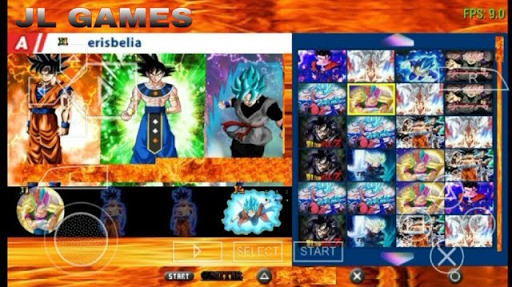 SAIUU!! NEW FODA MENU + ISO MOD DRAGON BALL SUPER TENKAICHI TAG TEAM (PSP) 2018