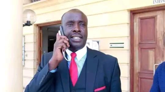 lawyer Danstan Omari photo