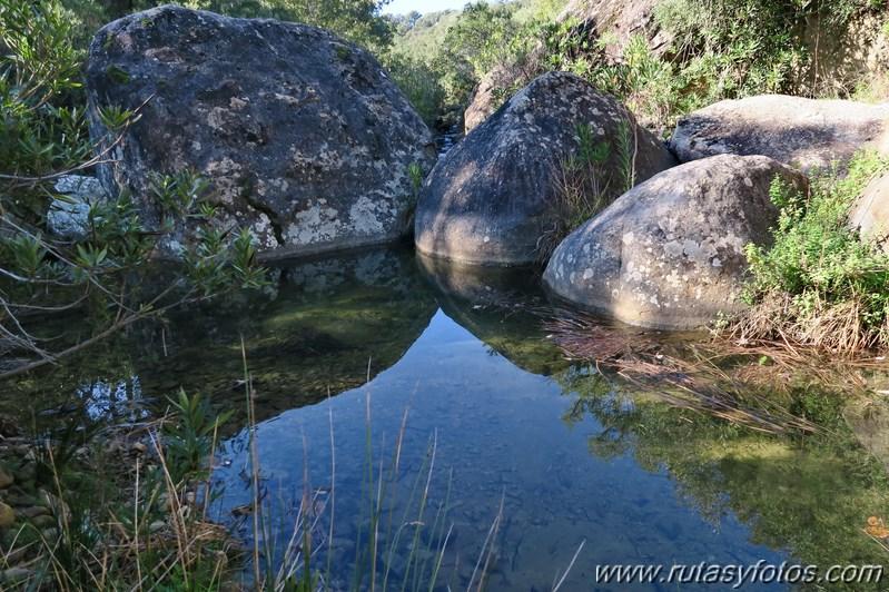 Jimena - Laguna escondida - Rio Hozgarganta