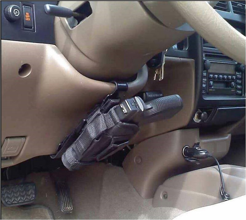 hiding a gun in your car easily (14)