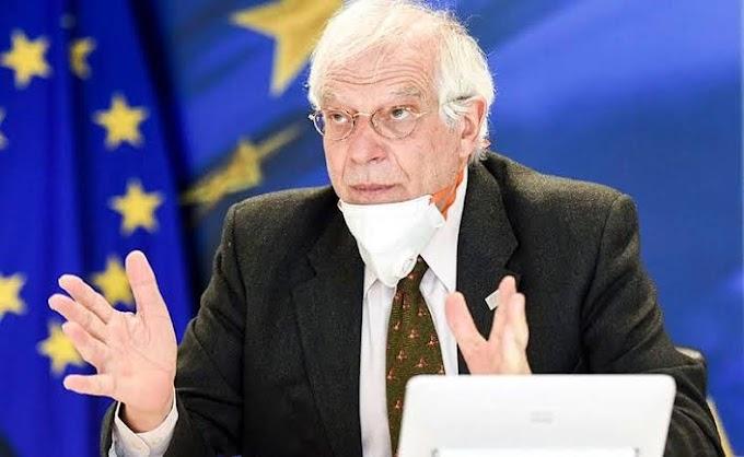 """Borrell: """"La UE no reconoce ninguna soberanía marroquí sobre el Sáhara Occidental, y reafirma su apoyo al Proceso de Paz de la ONU"""""""