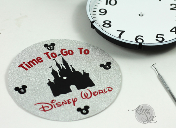 Custom Disney World Clock Face